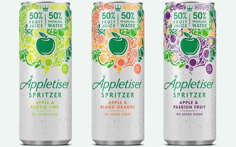 Artisan Sparkling Fruit Waters