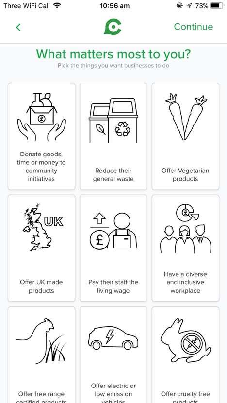 Globally Conscious Consumer Apps