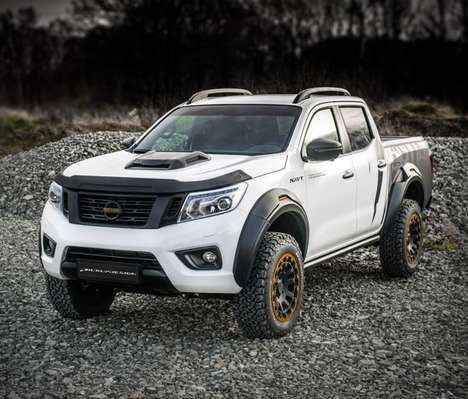 Custom-Modified Pickup Trucks - The Nissan Navara Navy from Carlex Design is Expertly Appointed
