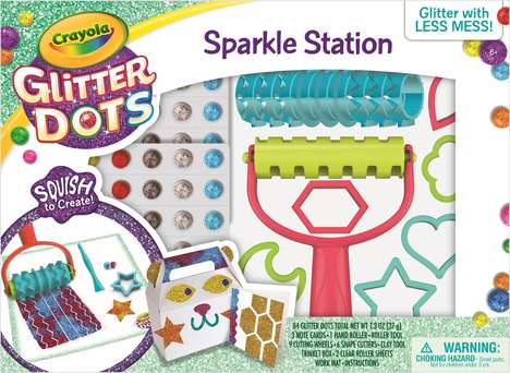 Mess-Free Glitter Crafts - Crayola's DIY-Inspired Art Activities Keep Messy Materials Contained