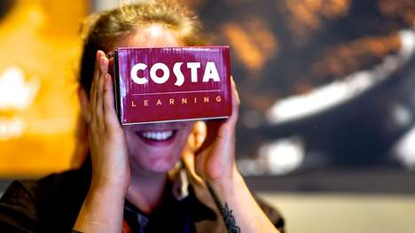 VR-Based Barista Training Programs - Costa Coffee Taps Virtual Reality to Educate Its New Staff