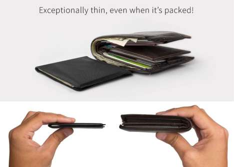 Razor-Thin Card Wallets