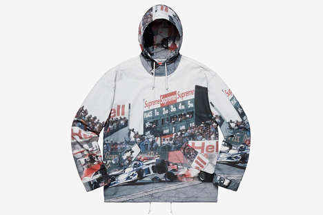 Heavy Graphic Street Outerwear