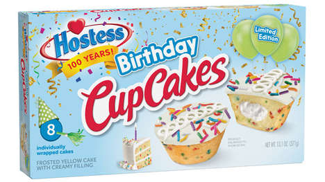 Limited-Edition Brand Birthday Cakes
