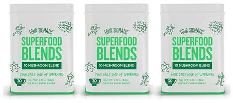 Multi-Mushroom Food Supplements