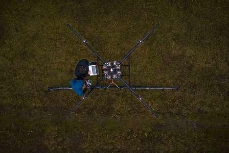 Pesticide-Spraying Drones