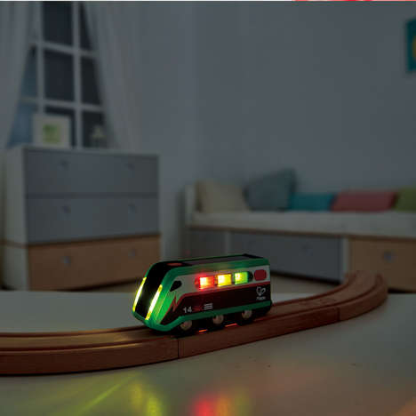 Solar-Powered Train Toys