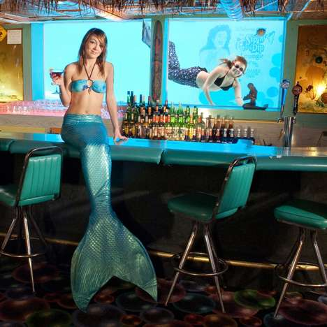 Mermaid-Filled Bars