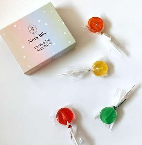 Sparkly Luxury CBD Lollipops