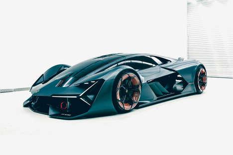 Hybrid Concept Hypercars