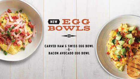 Scrambled Egg Breakfast Bowls