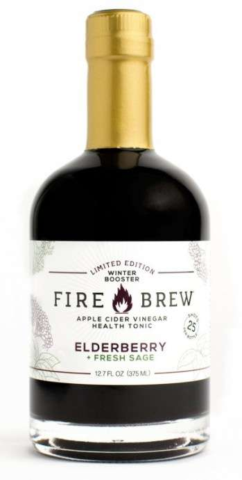 Elderberry-Sage Health Tonics