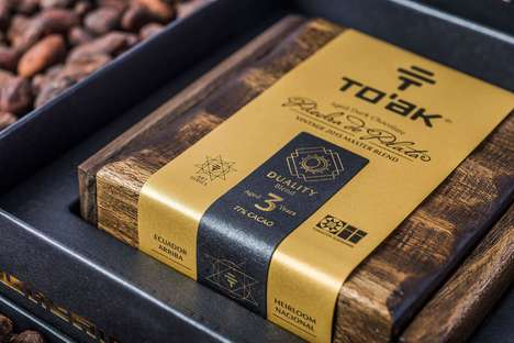 Extravagantly Priced Chocolate Bars - To'ak's Ancient Chocolate Bar Costs a Whooping $695 USD