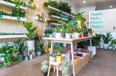 Wellness-Centric Plant Shops