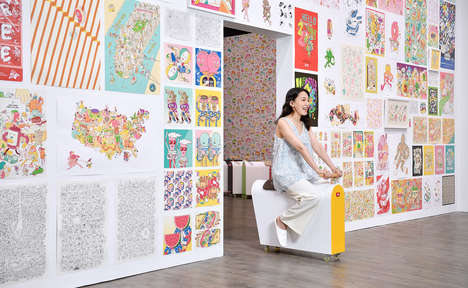 Playful Interactive Design Exhibitions