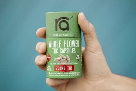 Encapsulated Cannabis Flowers