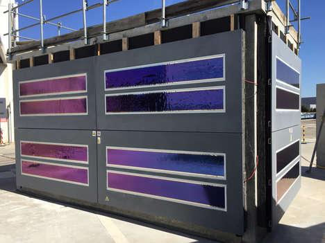 Energy-Generating Concrete Facades