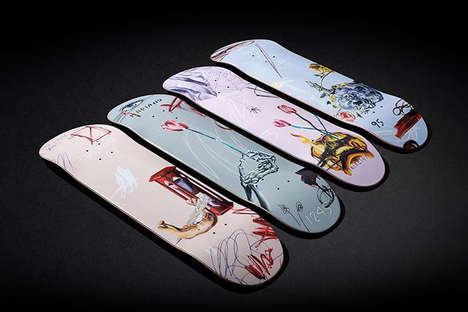 Artist-Made Limited Edition Skateboards