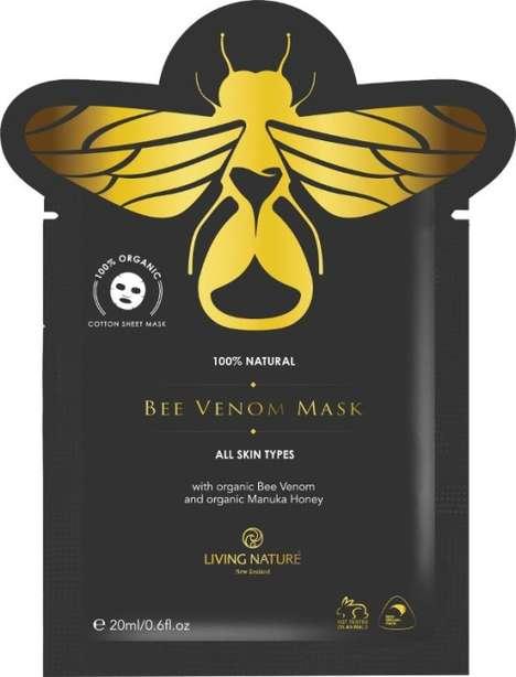 Single-Use Bee Venom Masks
