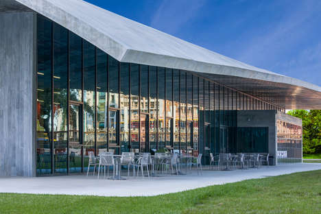 Stoic Brutalist Architecture Schools