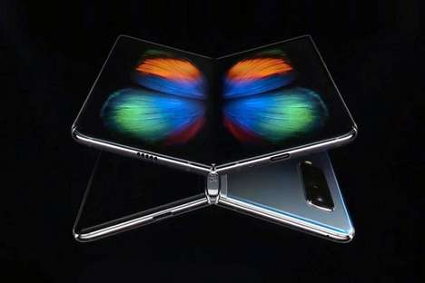 Elegant Foldable Smartphone Designs