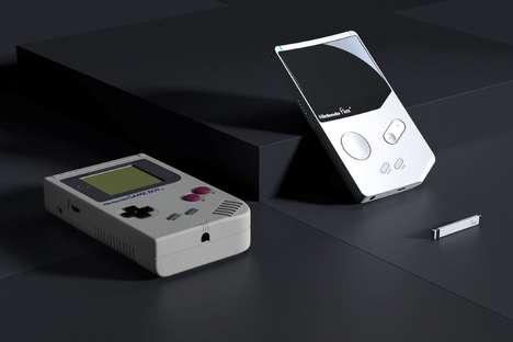 Modernized Handheld Gaming Consoles