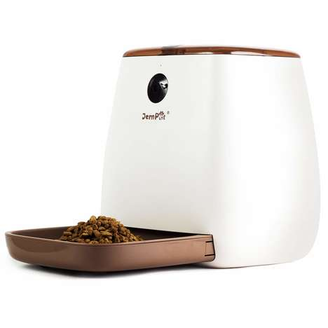 Voice Assistant Pet Feeders