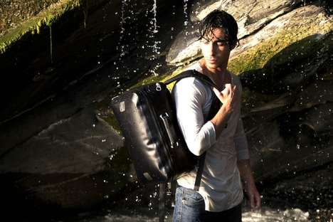 Rugged Inflatable Travel Packs