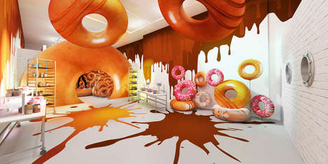Donut Playground Pop-Ups - Krispy Kreme is Opening a Sweet New Destination in London