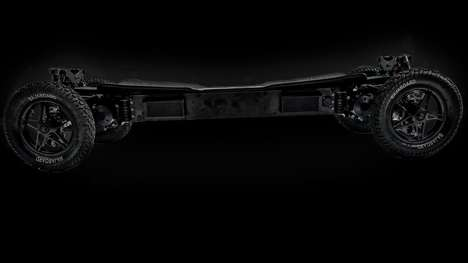 Blazing-Fast Electric Skateboards