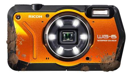 LED-Equipped Adventure Cameras