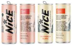 Exclusive Supermarket Canned Wines - The Nice Canned Wines are Available at Sainsbury's in the UK