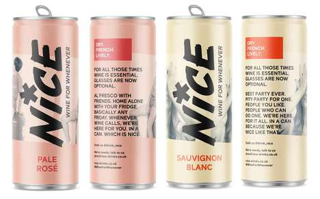 Exclusive Supermarket Canned Wines