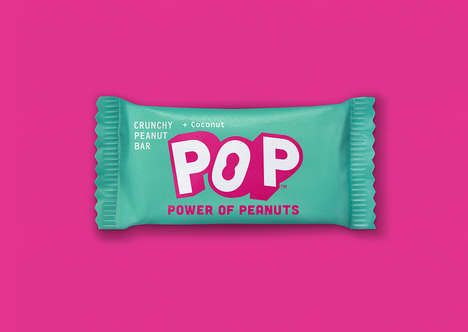 Colorful Snack Bar Packaging