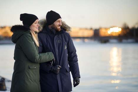 Hot Spot-Enabled Winter Parkas