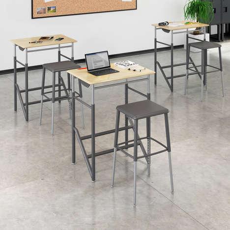 Adjustable Classroom Desks