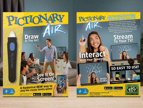 AR Drawing Board Games