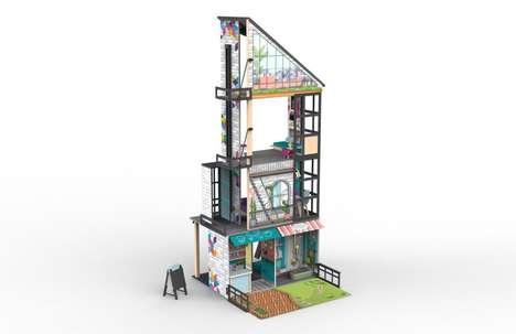 Multi-Storey Modern Dollhouses