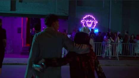 Sleep-Themed Nightclub Ads