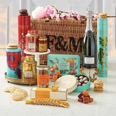Lunar Celebration Snack Hampers - Fortnum & Mason Launched Its First Chinese New Year Gift Basket