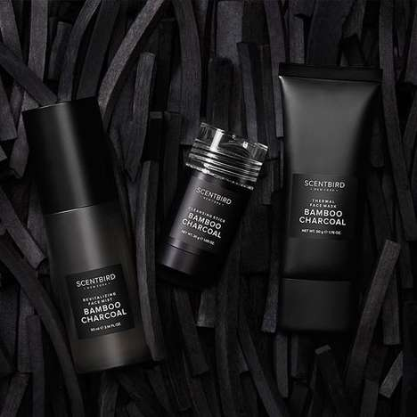 Unisex Charcoal Skincare - Scentbird's Bamboo Charcoal Skincare is Deeply Detoxifying