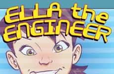 Inspiring STEM Comics - Deloitte Collaborated on an 'Ella the Engineer' Comic Book Series