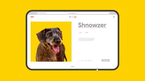 Search Engine Adoption Campaigns - Güd's 'Rescue Dogz' Takes Advantage of Commonly Misspelled Breeds