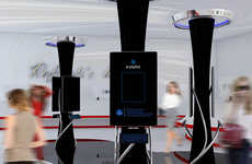Connected Cosmetic Retail Kiosks - The 'E-stylist' Maximizes Consumer Capabilities When Shopping