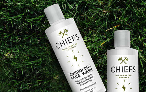 Invigorating Masculine Facial Cleansers