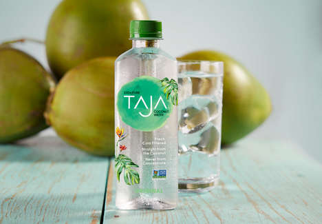 Cold-Filtered Coconut Waters