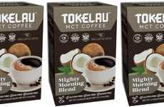 Keto-Friendly Coffee Blends - The Tokelau MCT Coffee Mighty Morning Blend is Satiating
