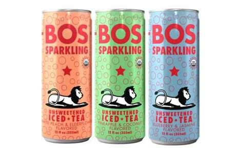 Sparkling Rooibos Beverages