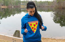 Food-Warming Pizza Hoodies