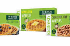 Kid-Friendly Healthy Waffles - Kidfresh's Waffles for Kids Contain Hidden Butternut Squash